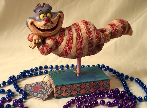 Jim Shore Disney Alice in Wonderland Cheshire Cat
