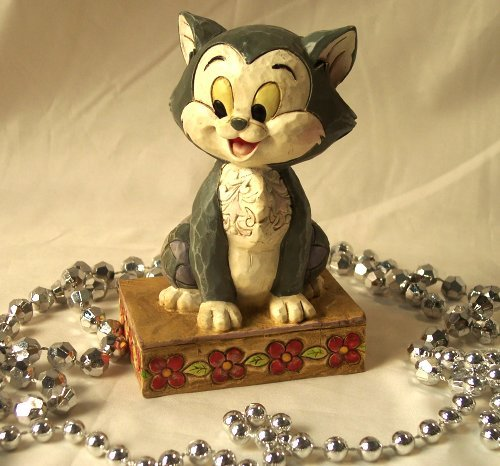 Jim Shore Disney Cat Buono Figaro