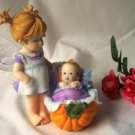 Kitchen Fairy Baby In Pumpkin