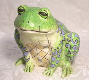 Jim Shore Heartwood Creek Frog