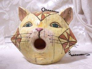 Jim Shore Cat Birdhouse