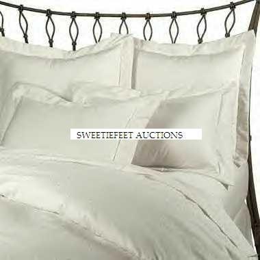 Ralph Lauren Solid White King Duvet Cover