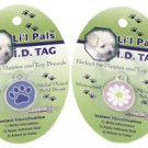 LS41196 Li&#39;l Pals I.D. Tag Paw