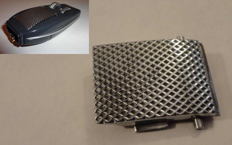 ART ASYLUM / DIAMOND SELECT STAR TREK TOS PHASER PROP METAL ASPIRATOR GRILL / DIAMOND PLATE / PARTS