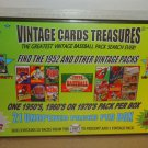 1952 TOPPS PACK SEARCH! MICKEY MANTLE ?  21 WAX, RACK OR CELLO PACKS BOX