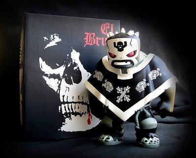 El Brujo Narco Satanico Tequila- by Frank Kozik