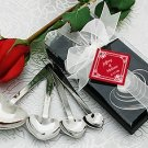 Heart Measuring Spoon Wedding Favors