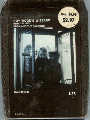 Roy Wood's Wizzard - Introducing Eddy And The Falcons Sealed 8-track tape