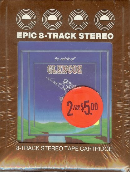 The Spirit Of Glencoe Sealed 8-track tape