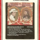Danny Davis and Willie Nelson - With The Nashville Brass 1980 RCA Sealed 8-track tape