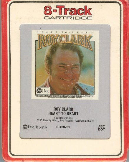 Roy Clark - Heart To Heart Sealed 8-track tape