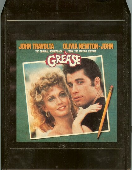 Grease - Motion Picture Soundtrack 8-track tape