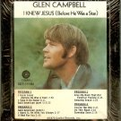 Glen Campbell - I Knew Jesus Sealed 8-track tape