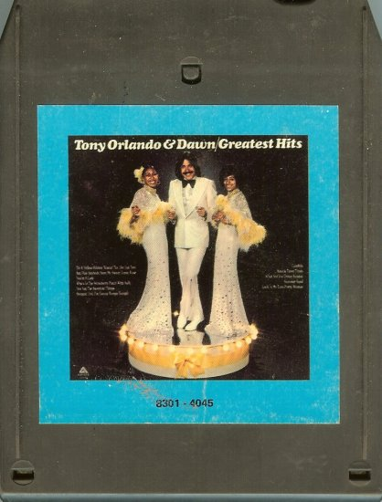 Tony Orlando & Dawn - Greatest Hits A21B 8-track tape