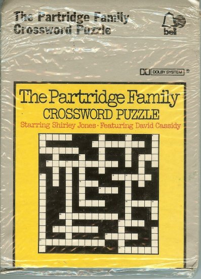 The Partridge Family - Crossword Puzzle 1973 BELL UK 8-track tape