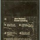 Jimi Hendrix - Crash Landing 1975 WB 8-track tape