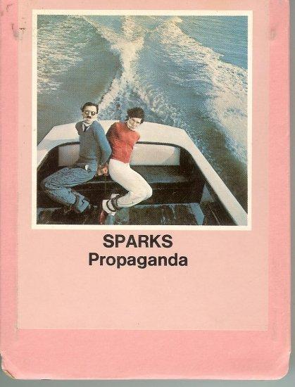 Sparks - Propaganda 8-track tape