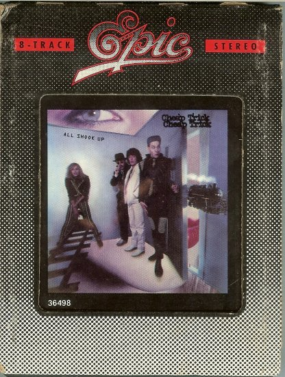 Cheap Trick - All Shook Up 1980 EPIC 8-track tape