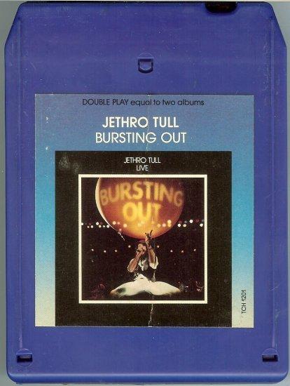 Jethro Tull - Bursting Out Live 1978 CHRYSALIS 8-track tape