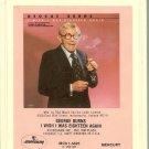 George Burns -  I Wish I Was 18 Again 1980 RCA MERCURY 8-track tape