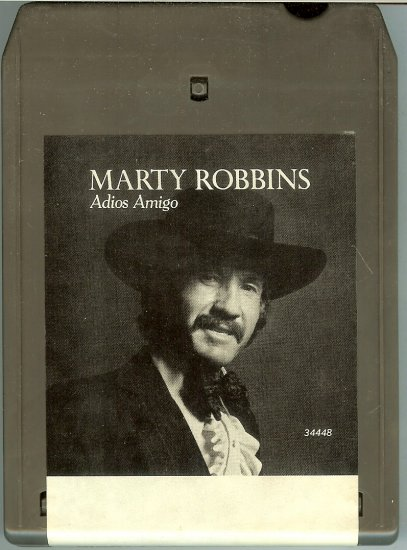 Marty Robbins - Adios Amigos 1977 CBS 8-track tape