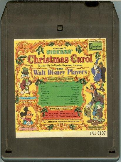 Walt Disney Productions - Adaptation of Dickens' Christmas Carol 1974 DISNEY 8-track tape