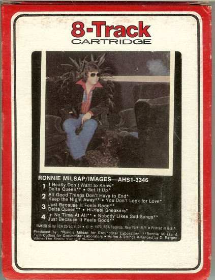 Ronnie Milsap - Images 1979 RCA 8-track tape