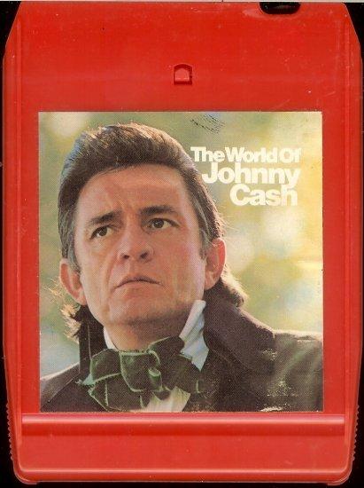 Johnny Cash - The World Of Johnny Cash 1970 CBS 8-track tape