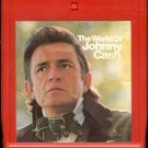 Johnny Cash - The World Of Johnny Cash 1970 CBS 8-track tape