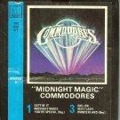 Commodores - Midnight Magic 1979 MOTOWN 8-track tape