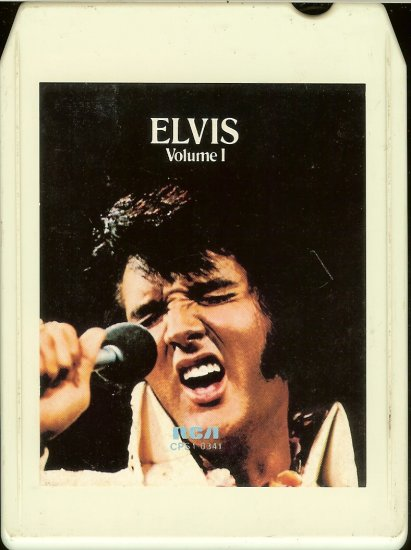 Elvis Presley - Elvis A Legendary Performer Volume 1 8-track tape