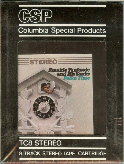 Frankie Yankovic - Polka Time Sealed 8-track tape