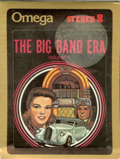 The Big Band Era - Volume 2 Sealed 8-track tape