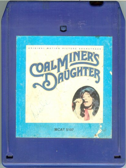 Coal Miner's Daughter - Original Motion Picture Soundtrack 8-track tape