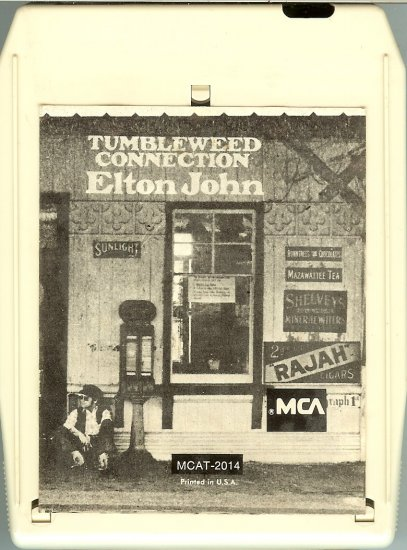 Elton John - Tumbleweed Connection 1970 MCA 8-track tape