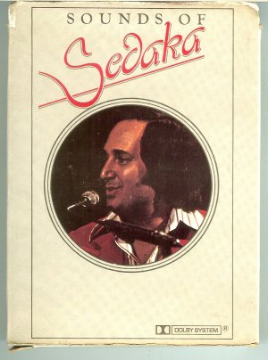 Neil Sedaka - Sounds Of Sedaka 8-track tape