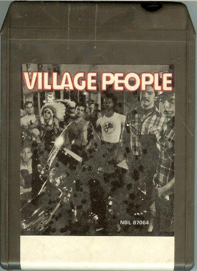 Village People - Village People 1977 CRC 8-track tape