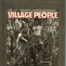 Village People - Village People 1977 CRC 8-track tape