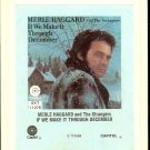 Merle Haggard and The Strangers - If We Make It Through December 1974 RCA CAPITOL 8-track tape