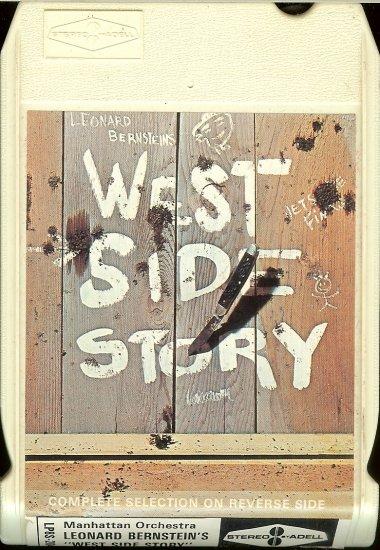 Leonard Bernstein - West Side Story 1965 ADELL A1 8-track tape