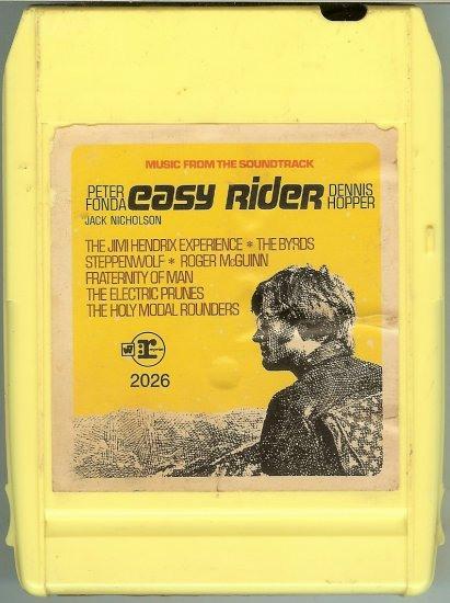 Easy Rider - Music From The Soundtrack 8-track tape