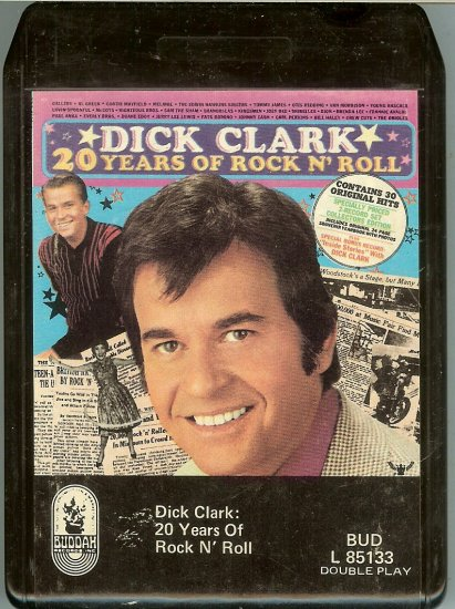Dick Clark -  20 Years Of Rock N' Roll 1973 BUDDAH 8-track tape