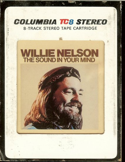 Willie Nelson - The Sound In Your Mind 1976 CBS TC8 8-track tape