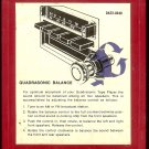 Ford Motor Company - Presents Quadrasonic Sound For Today ( Quadraphonic ) 8-track tape