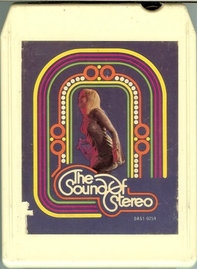 Chrysler - The Sound Of Stereo 1977 MGM 8-track tape