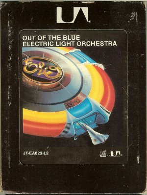 Electric Light Orchestra - Out Of The Blue 8-track tape