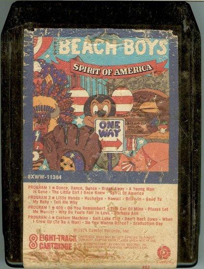The Beach Boys - Spirit of America 8-track tape