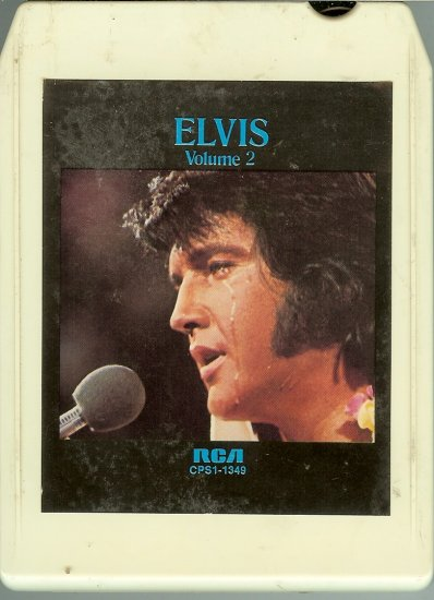 Elvis Presley - A Legendary Performer Vol.2 8-track tape