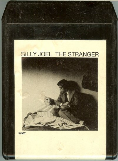 Billy Joel - The Stranger 1977 CBS TC8 A21B 8-track tape