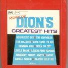Dion And The Belmonts - Dion's Greatest Hits 8-track tape